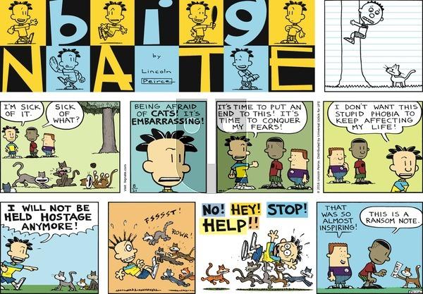 Big Nate on Sunday August 21, 2016 Comic Strip