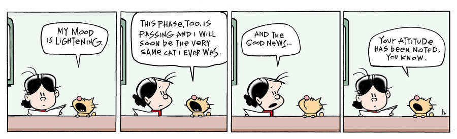 Ten Cats Comic Strip for May 20, 2020