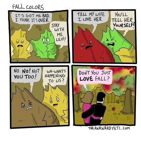 The Awkward Yeti Comic Strip for September 28, 2014