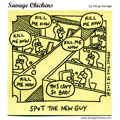 Savage Chickens Comic Strip for February 25, 2016