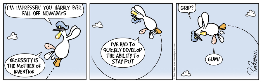 Ollie and Quentin Comic Strip for June 17, 2017