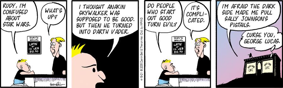 Rudy Park Comic Strip for April 19, 2021