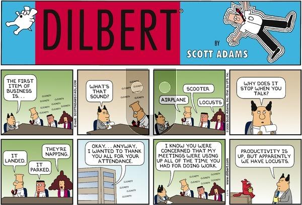 Dilbert - Sunday May 21, 2006 Comic Strip