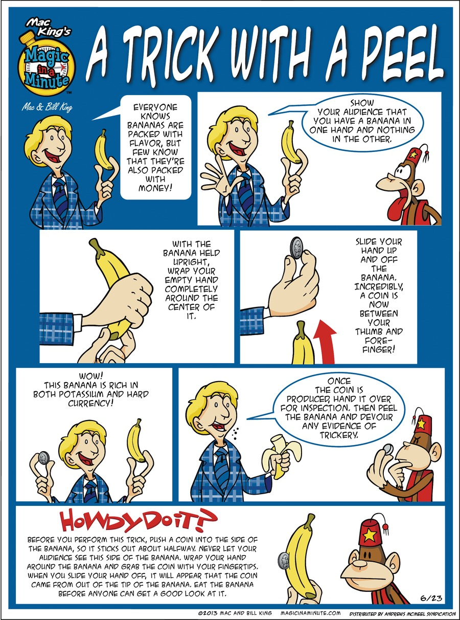Magic in a Minute Comic Strip for June 23, 2019