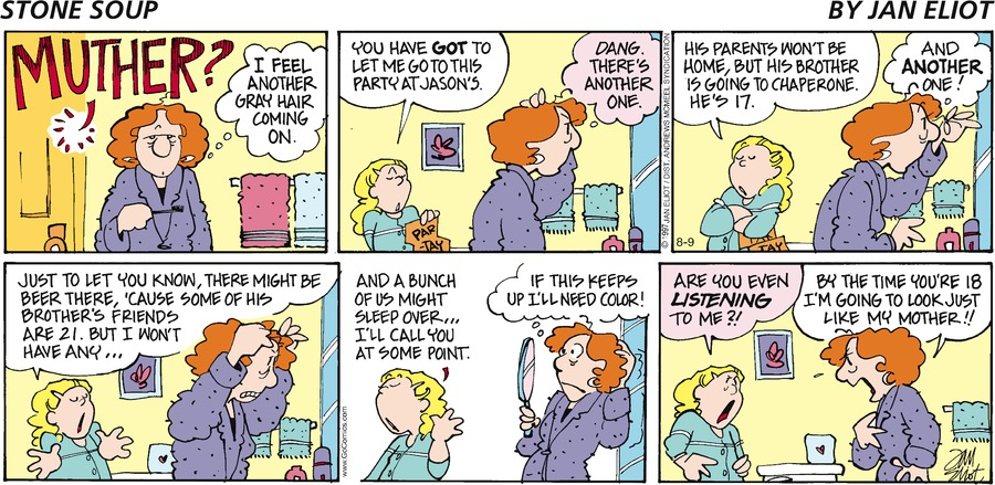 Stone Soup Comic Strip for August 09, 2020