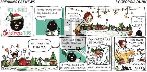 Breaking Cat News on Sunday December 16, 2018 Comic Strip