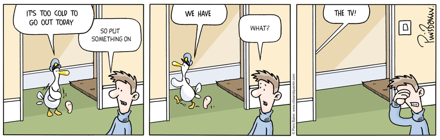 Ollie and Quentin Comic Strip for August 24, 2012