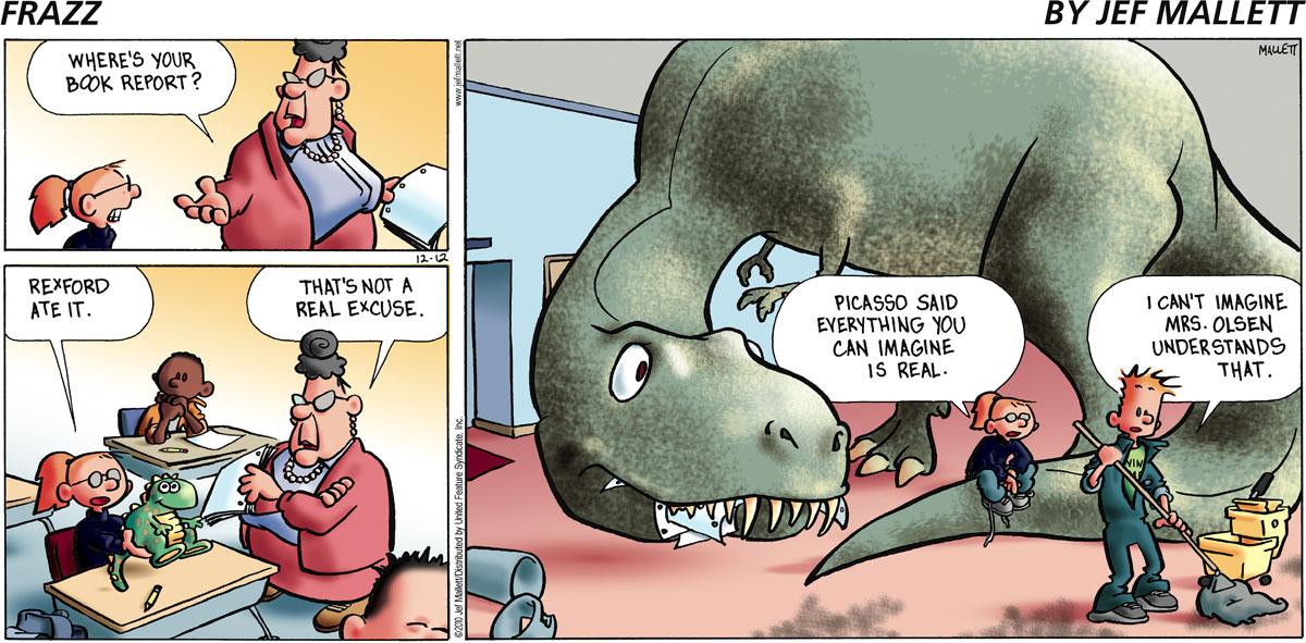Frazz for Dec 12, 2010 Comic Strip