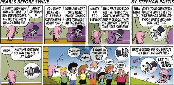 Pearls Before Swine on Sunday March 18, 2018 Comic Strip