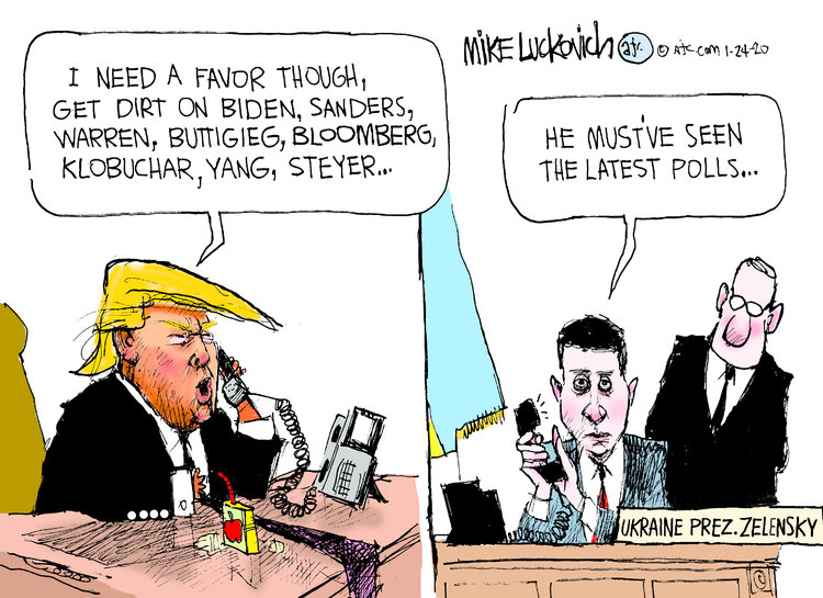 Mike Luckovich Comic Strip for January 24, 2020