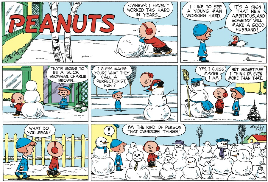 Peanuts Begins by Charles Schulz on Sat, 20 Feb 2021