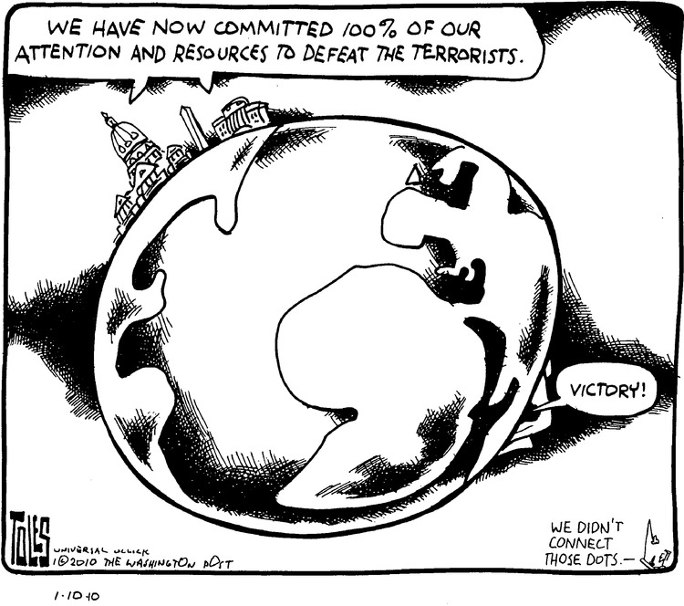 Tom Toles Comic Strip for January 10, 2010