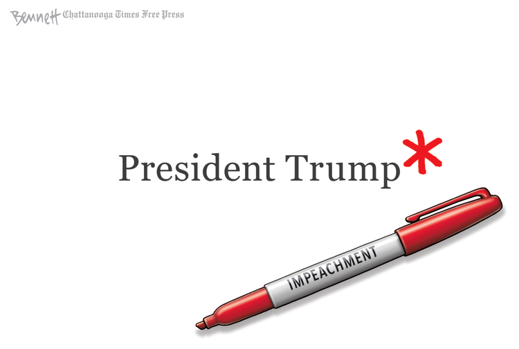Clay Bennett by Clay Bennett on Fri, 13 Dec 2019