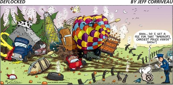 DeFlocked on Sunday September 30, 2012 Comic Strip