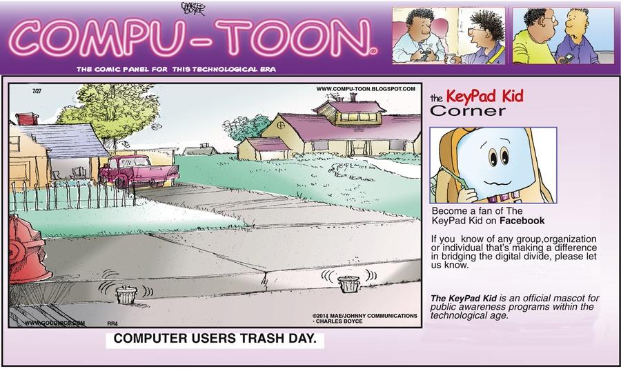 Compu-toon for Jul 27, 2014 Comic Strip