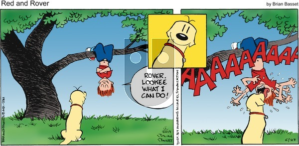 Red and Rover on Sunday June 23, 2019 Comic Strip