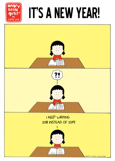 Angry Little Girls Comic Strip for January 08, 2019