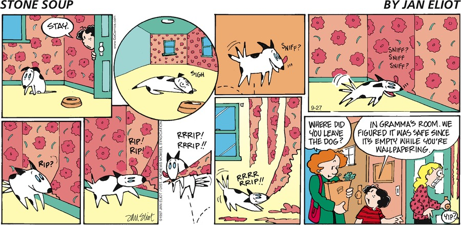 Stone Soup Comic Strip for September 27, 2020