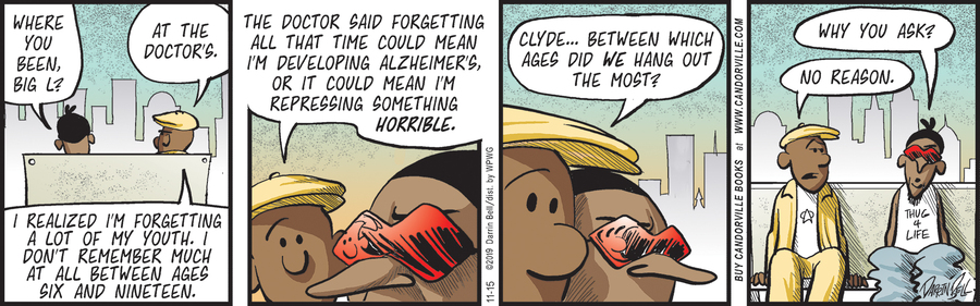Candorville Comic Strip for November 15, 2019