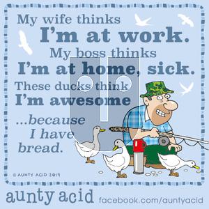 Aunty Acid on Friday October 18, 2019 Comic Strip