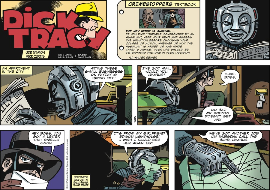 Dick Tracy Comic Strip for January 05, 2020