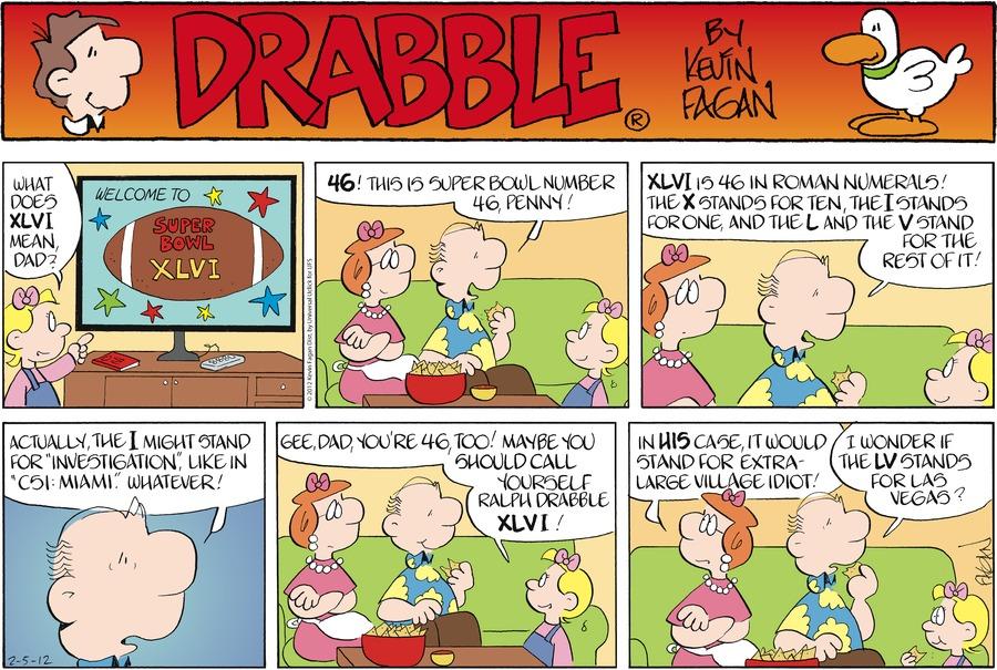 Drabble Comic Strip for February 05, 2012