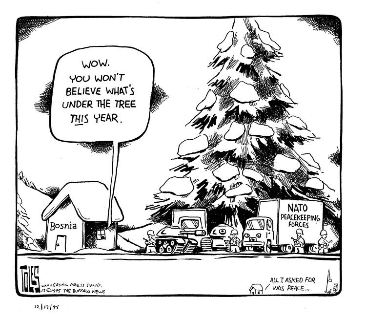 Tom Toles for Dec 17, 1995 Comic Strip