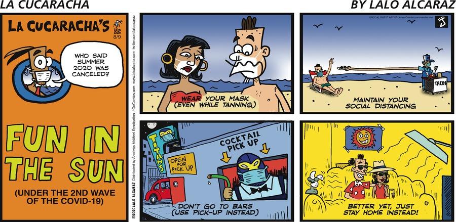 La Cucaracha Comic Strip for August 09, 2020