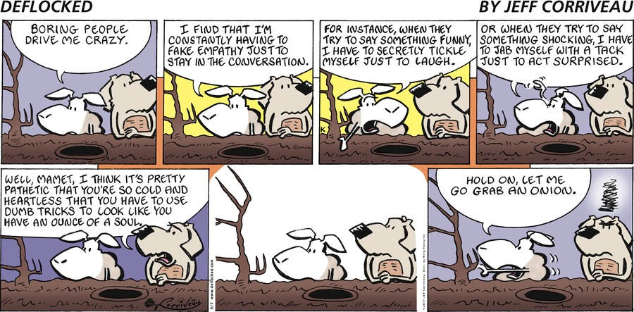 DeFlocked Comic Strip for May 07, 2017
