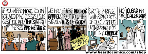 Beardo on Monday December 30, 2019 Comic Strip