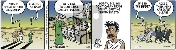 Alley Oop - Friday March 20, 2020 Comic Strip