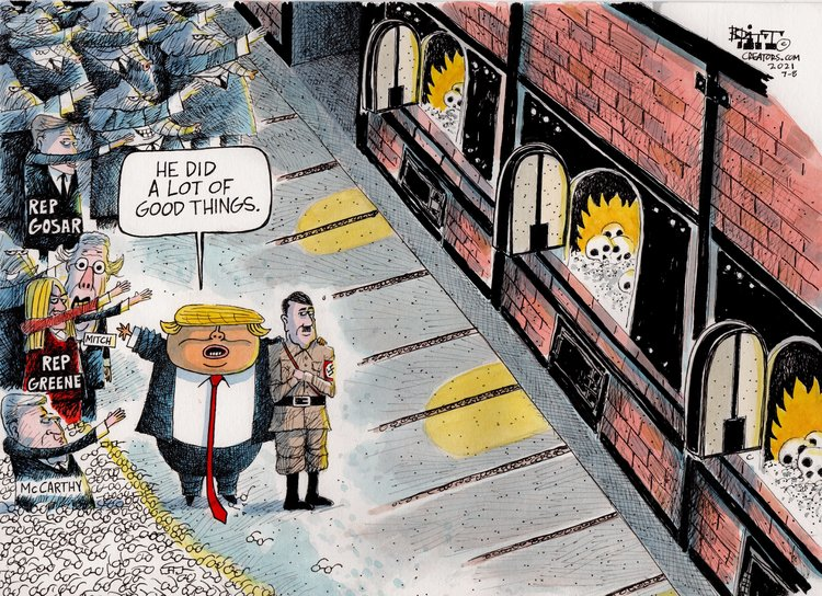 Chris Britt Comic Strip for July 09, 2021