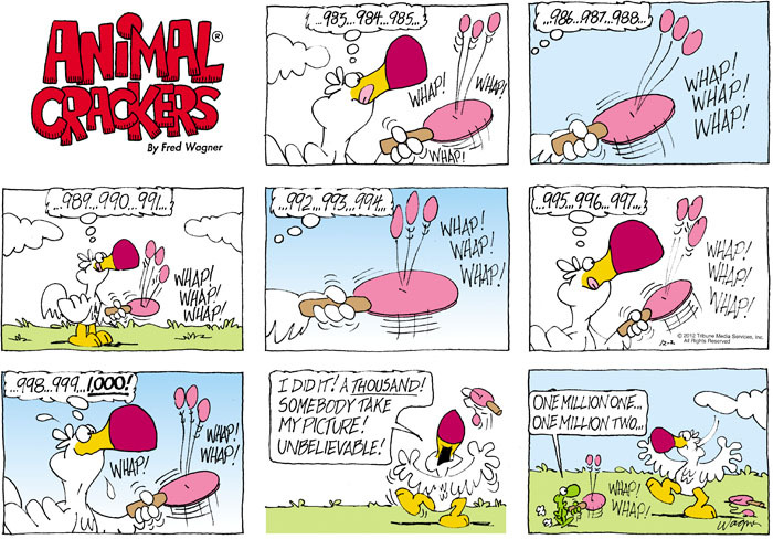 Animal Crackers for Dec 2, 2012 Comic Strip