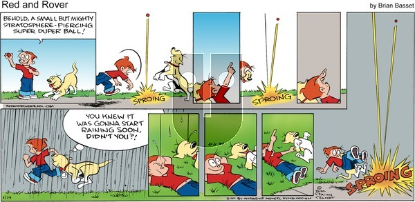 Red and Rover - Sunday May 24, 2020 Comic Strip