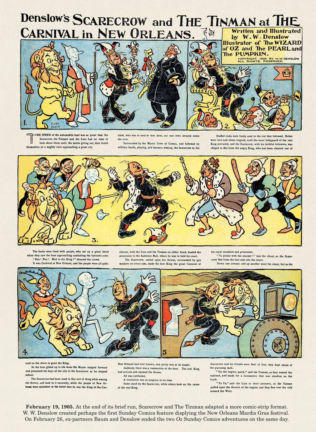 Origins of the Sunday Comics by Peter Maresca on Wed, 10 Feb 2021