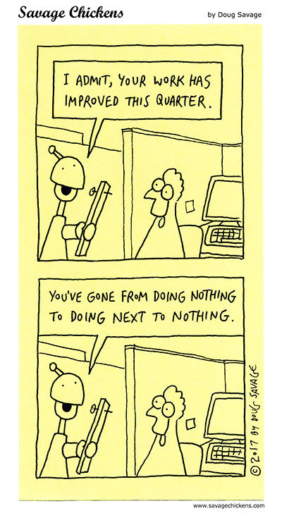 Savage Chickens Comic Strip for May 17, 2021