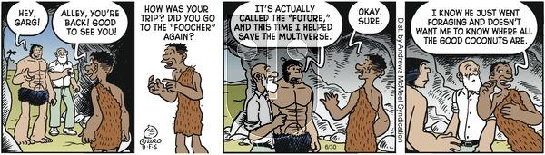 Alley Oop - Tuesday June 30, 2020 Comic Strip