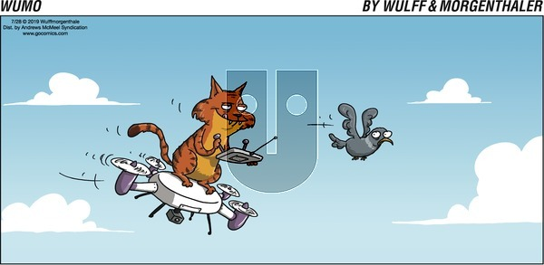 WuMo - Sunday July 28, 2019 Comic Strip
