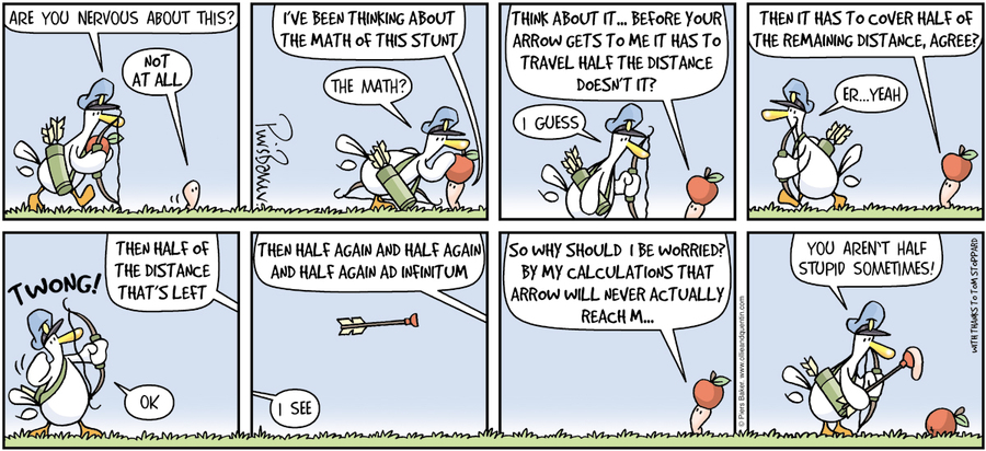 Ollie and Quentin Comic Strip for July 14, 2013