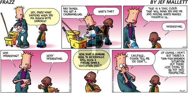 Frazz on Sunday October 27, 2002 Comic Strip