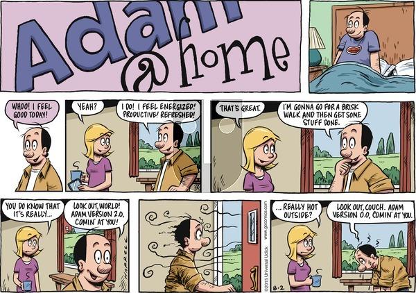 Adam@Home on Sunday August 2, 2015 Comic Strip