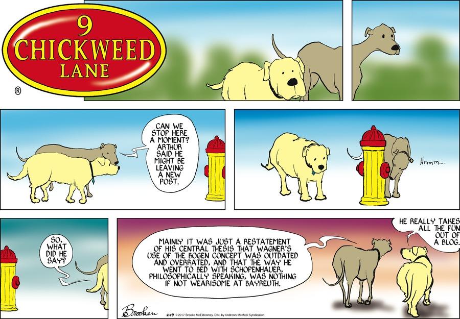 9 Chickweed Lane for Feb 19, 2017 Comic Strip