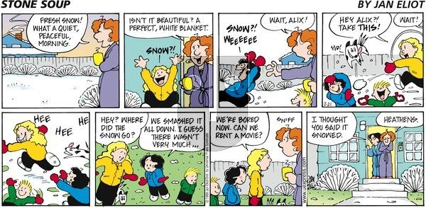 Stone Soup on Sunday February 21, 1999 Comic Strip