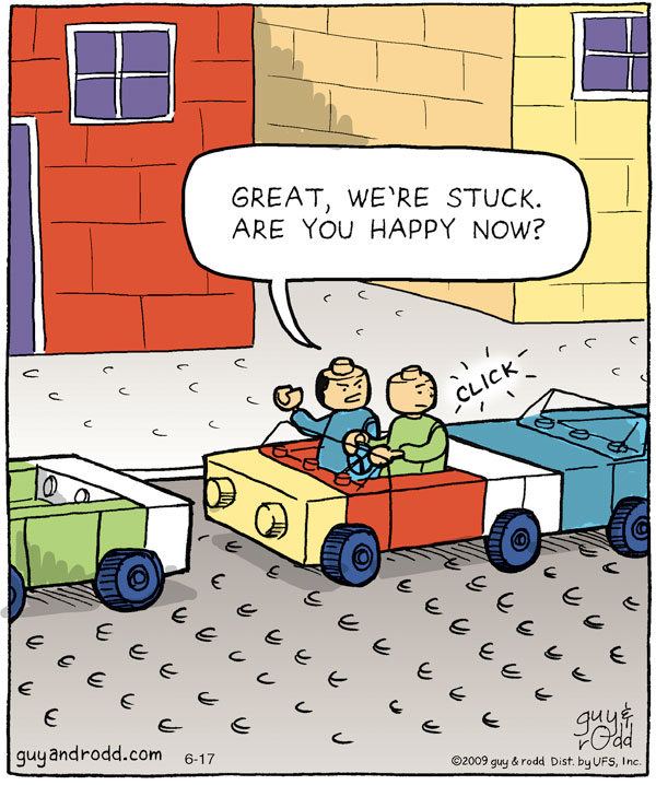 Brevity for Jun 17, 2009 Comic Strip