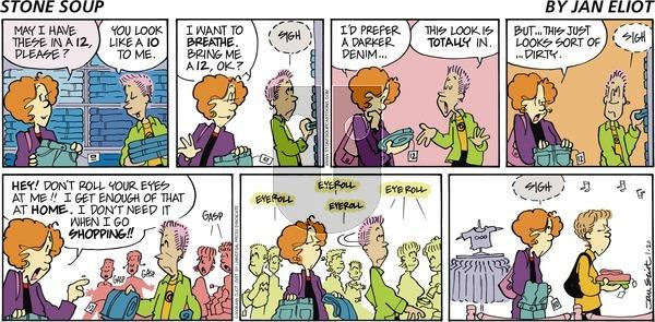 Stone Soup on Sunday January 20, 2008 Comic Strip