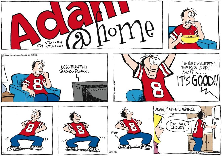 Adam@Home Comic Strip for September 17, 2006