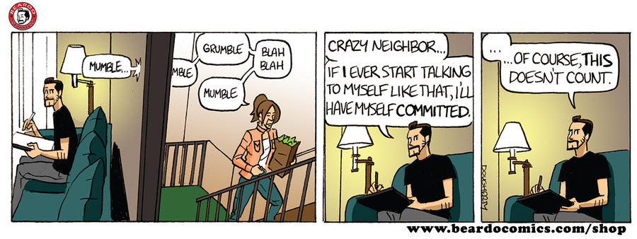 Beardo Comic Strip for March 14, 2019