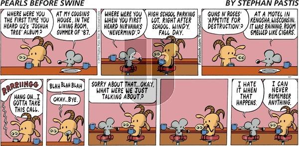 Pearls Before Swine on Sunday June 7, 2015 Comic Strip