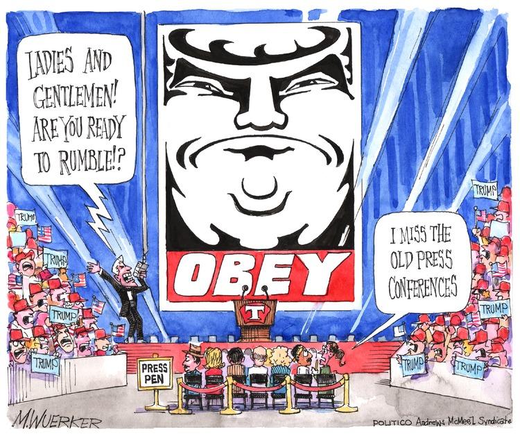 Matt Wuerker Comic Strip for January 15, 2017