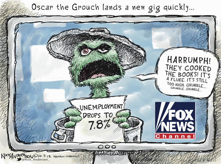 Nick Anderson Comic Strip for October 07, 2012